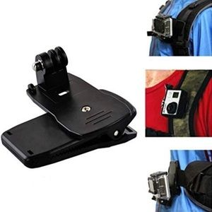 Backpack Clip for GoPro or Action Camera
